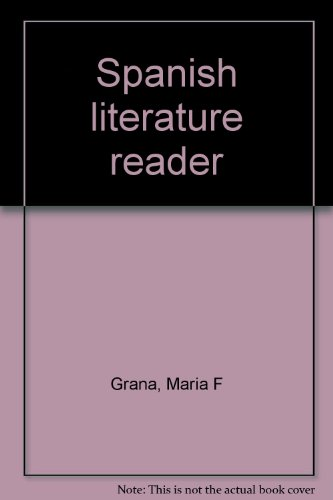 9780072188196: Spanish literature reader