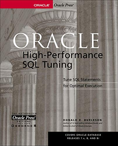 9780072190588: Oracle High-Performance SQL Tuning (Oracle Press Series)