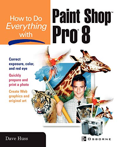 9780072191073: How To Do Everything with Paint Shop Pro 8