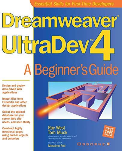 9780072191608: Dreamweaver UltraDev 4: A Beginner's Guide