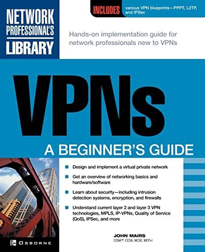 9780072191813: VPNs: A Beginner's Guide