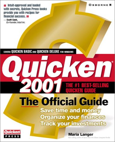 9780072192193: Quicken 2001: The Official Guide