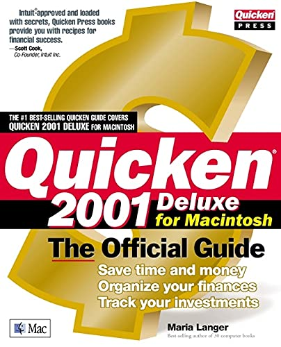 9780072192209: Quicken(r) 2001 Deluxe for Macintosh: The Official Guide