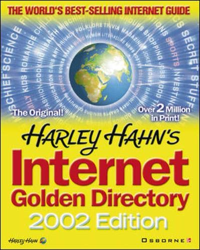 9780072192483: Harley Hahn's Internet Golden Directory [With CDROM] (Yellow pages)