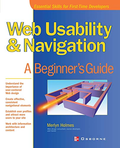 9780072192612: Web Usability and Navigation: A Beginner's Guide