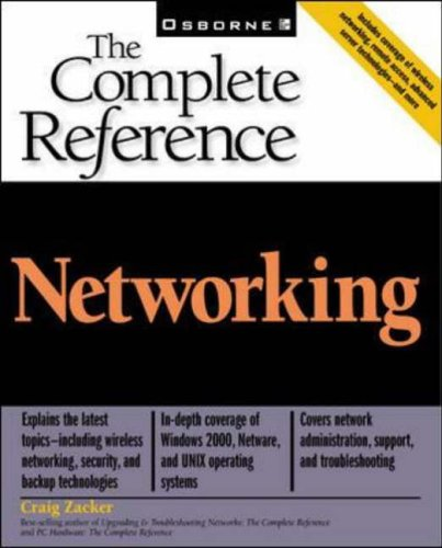 9780072192773: Networking: The Complete Reference