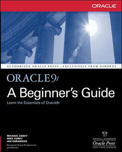 9780072192797: Oracle9i: A Beginner's Guide