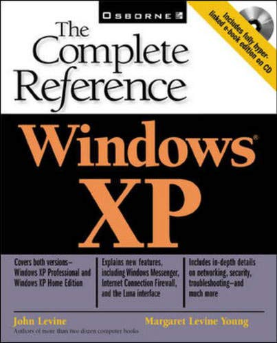 9780072192971: Windows XP: The Complete Reference