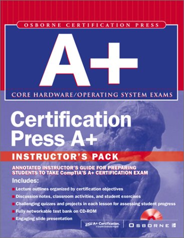 9780072193015: Instructor's Manual: Im Cert Press A+ Instructors Pack (Certification Press)