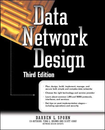 9780072193121: Data Network Design