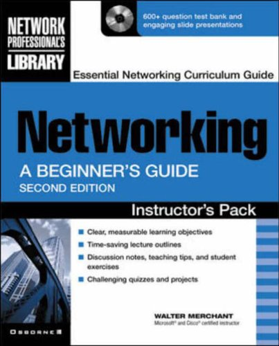 9780072193220: Instructor's Manual: Im Networking Beg Gde