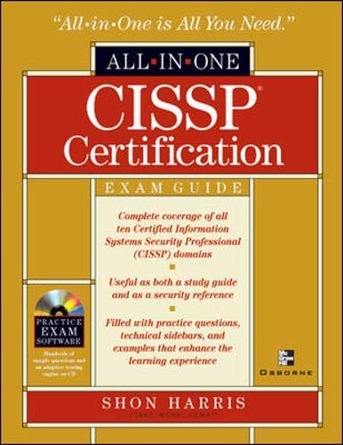 9780072193534: Cissp Certification: All in One Exam Guide