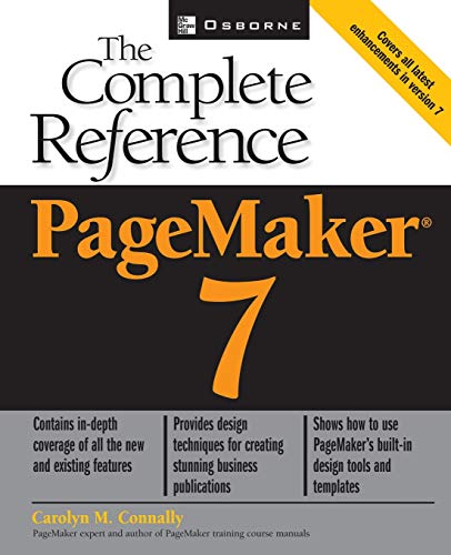 9780072193589: Pagemaker(r) 7: The Complete Reference