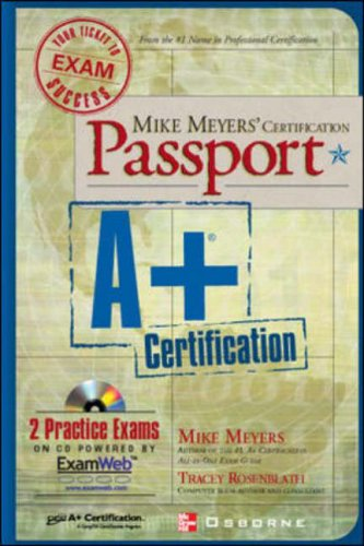 9780072193633: Mike Meyers' A+ Certification Passport