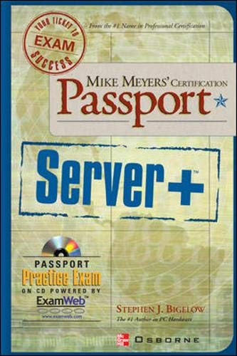 9780072193640: Mike Meyers' Server+ Certification Passport