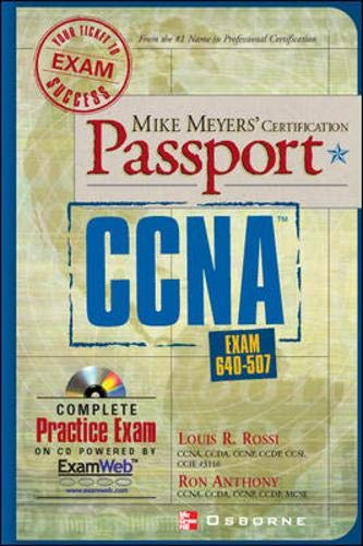 9780072193657: Mike Meyers' CCNA (TM) Exam Passport (Exam 640-507)