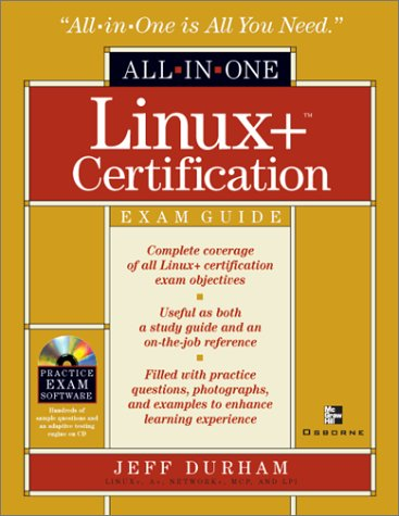 9780072193688: Linux+ All-in-One Exam Guide