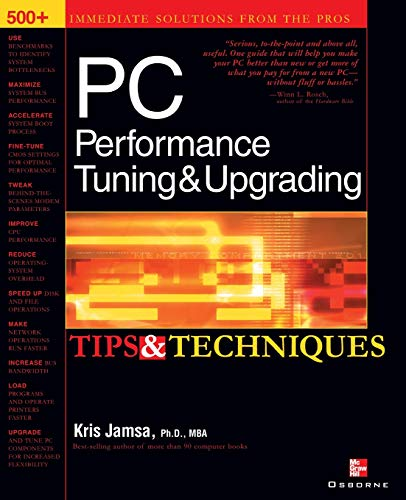 9780072193787: PC Performance Tuning & Upgrading Tips & Techniques