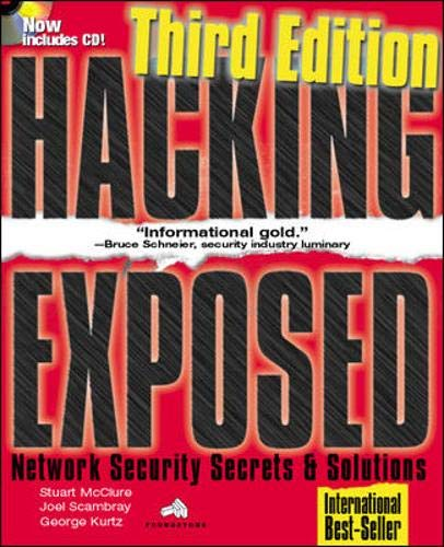 9780072193817: Hacking Exposed: Network Security Secrets & Solutions, Third Edition (Hacking Exposed)
