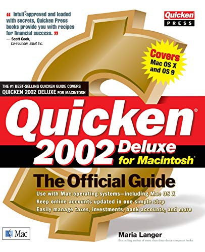 9780072193893: Quicken(r) 2002 Deluxe for Macintosh(r): The Official Guide
