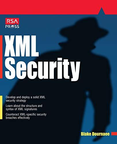 9780072193992: XML Security