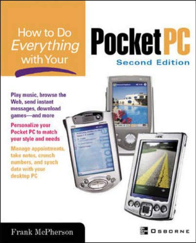 9780072194142: How To Do Everything With Your Pocket PC, 2nd Edition