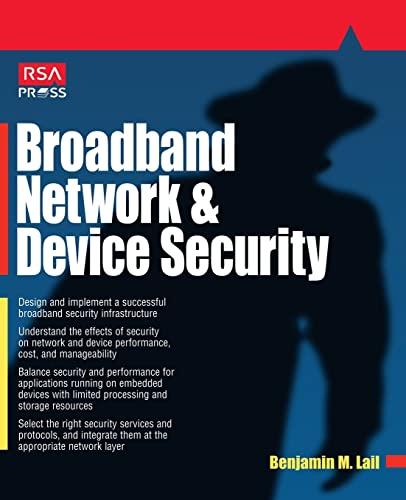 9780072194241: Broadband Network & Device Security