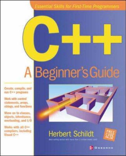 9780072194678: C++: A Beginner's Guide