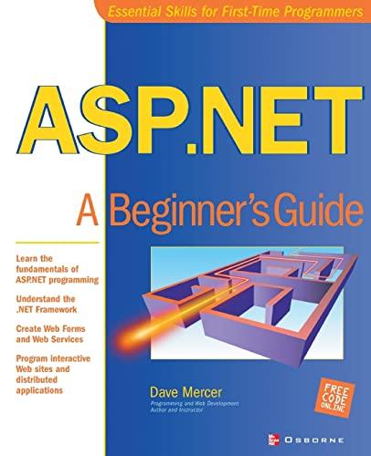 9780072195125: ASP.NET: A Beginner's Guide