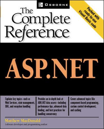 9780072195132: ASP.NET: The Complete Reference