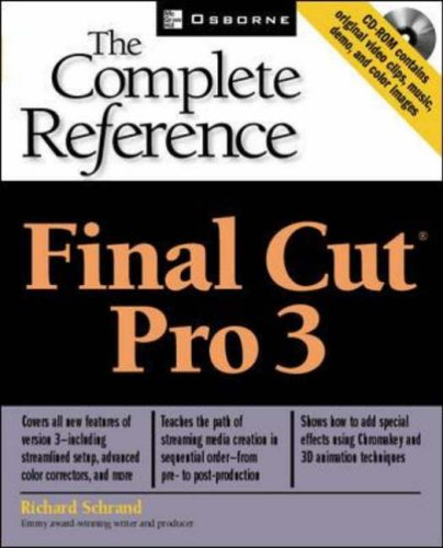 9780072195170: Final Cut Pro (R) 3: The Complete Reference