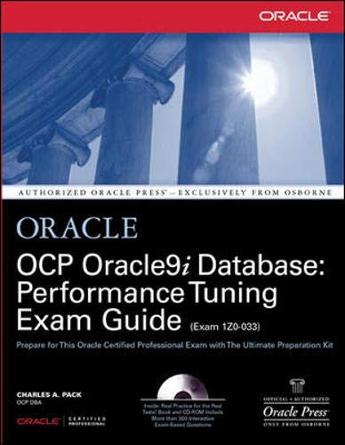 9780072195279: OCP Oracle9i Database: Performance Tuning Exam Guide