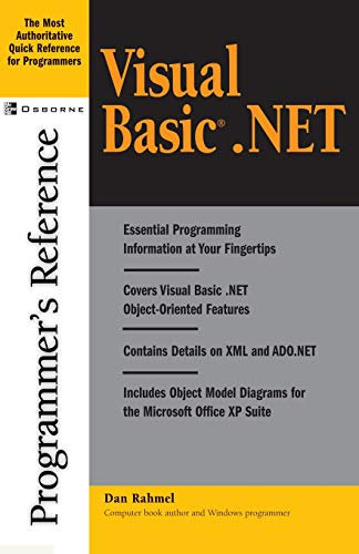 9780072195347: Visual Basic.Net Programmer's Reference