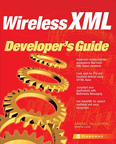9780072195361: Wireless XML Developer's Guide (Application Development)