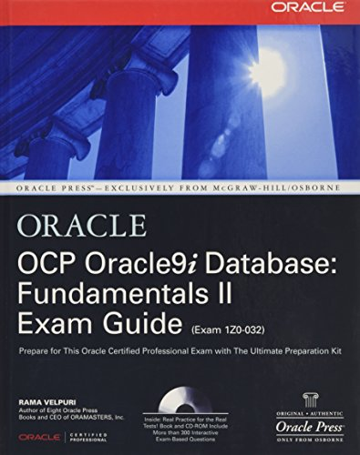 9780072195439: OCP Oracle9i Database: Fundamentals II Exam Guide
