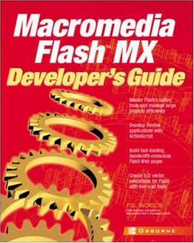 9780072195590: Macromedia Flash MX Developer's Guide