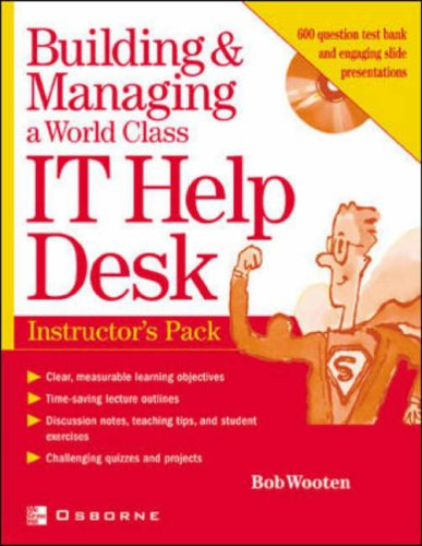 9780072195705: Instructor's Manual: Im Build Man World it Help Desk Inst Pk