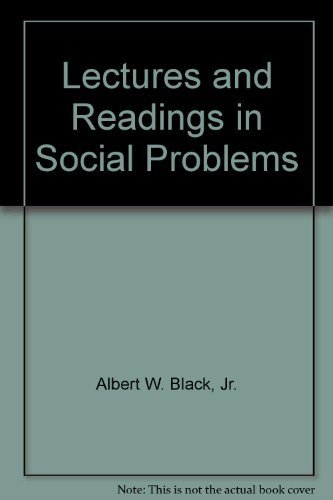9780072213768: Lectures and Readings in Social Problems