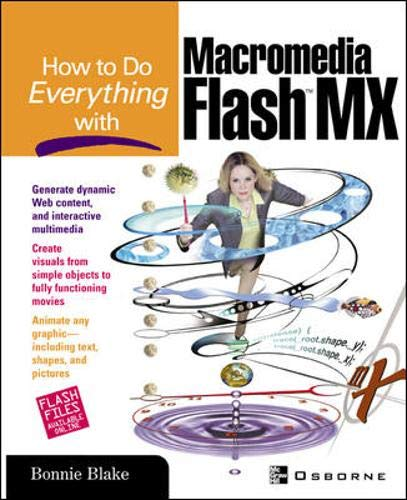 9780072222500: How To Do Everything With Macromedia Flash(TM) MX