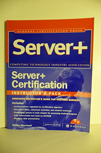 9780072222524: Server+ Certification Press instructor's pack
