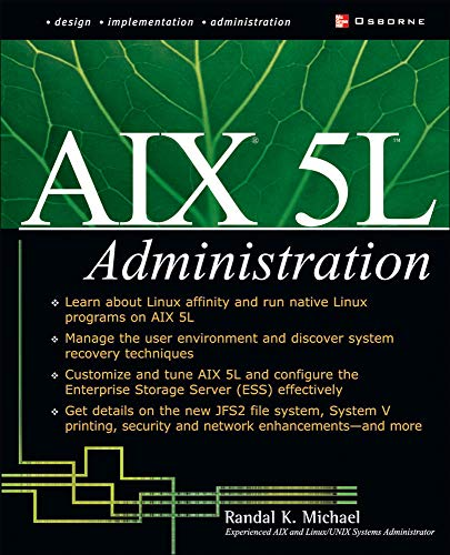 9780072222555: AIX 5L Administration (Networking Series)