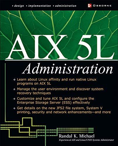 9780072222555: AIX 5L Administration