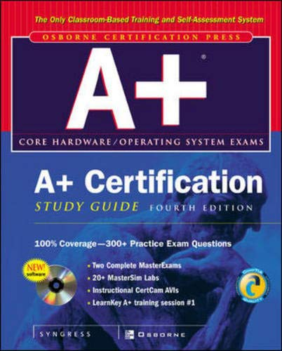 9780072222791: A+ Certification Study Guide