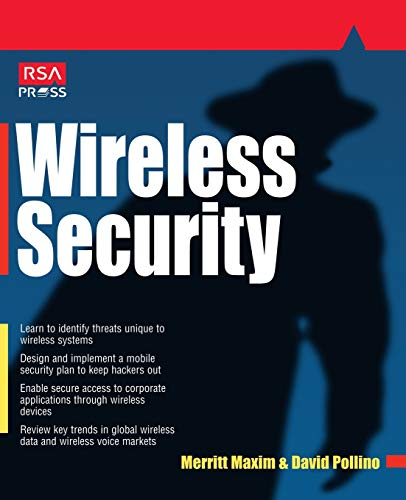 9780072222869: Wireless Security