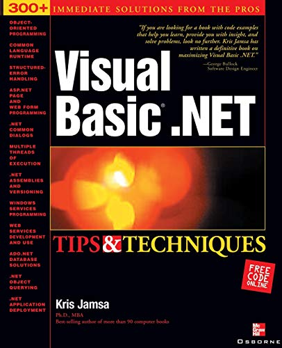 9780072223187: Visual Basic .NET Tips & Techniques