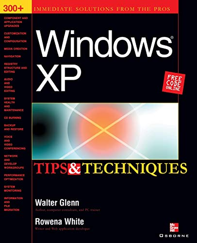 9780072223347: Windows XP Tips & Techniques