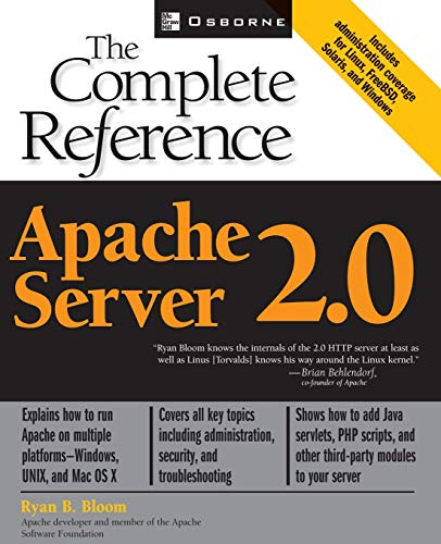 9780072223446: Apache Server 2.0 the Complete Reference