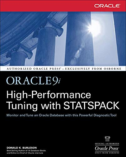 9780072223606: Oracle9i High-Performance Tuning with STATSPACK