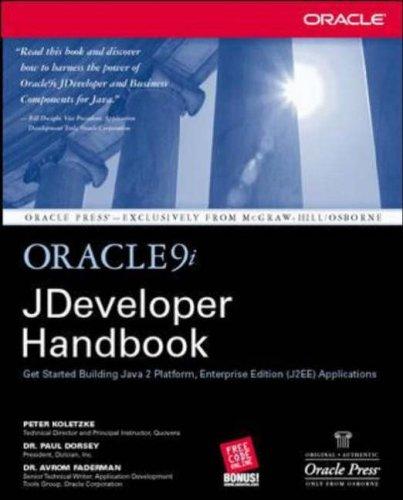 9780072223842: Oracle9i JDeveloper Handbook