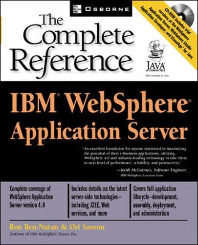 9780072223941: IBM(R) Websphere(R) Application Server: The Complete Reference